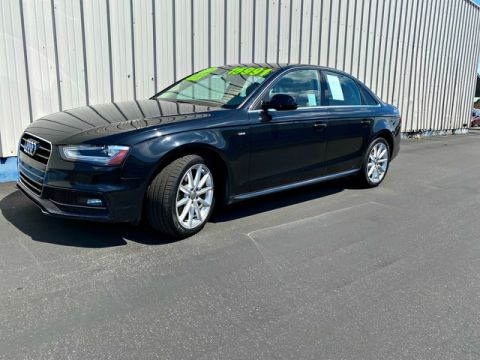 Pre-Owned 2014 Audi A4 Premium Plus Front Wheel Drive Sedan