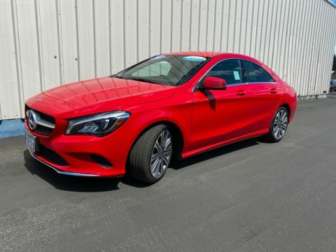Certified Pre-Owned 2018 Mercedes-Benz CLA CLA 250 Front Wheel Drive Coupe